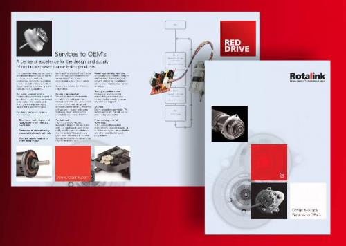 Rotalink spell out Design & Supply Services to OEMs with new presentation folder