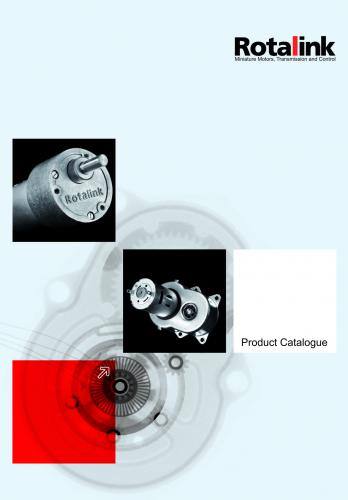 Rotalink launches new and updated catalogue for miniature motors, power transmission and controls