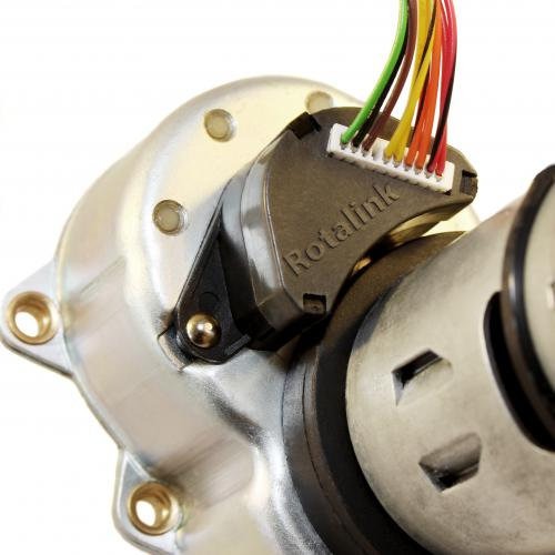 ABSOLUTE ENCODER OFFERS NEW OPTIONS  FOR CONTROLLING DC MOTORS