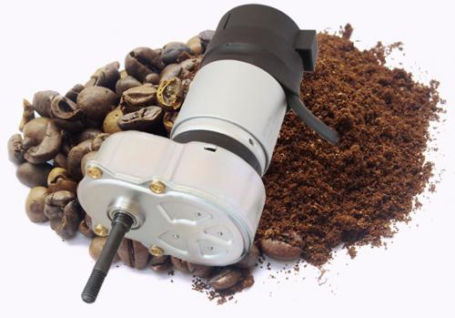 INNOVATIVE GEAR MOTORS HELP TO MAKE FRESH COFFEE  LESS OF A GRIND